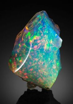PRECIOUS OPAL with IMPORTANT HISTORIC PROVENANCE. Virgin Valley, Humboldt County, Nevada, USA