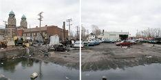 JEFF BROUWS - Discarded Landscape 25, Detroit, Michigan