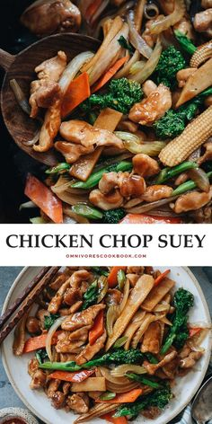 Comida China Chop Suey, Chop Suey Recipe Chinese, Recipe Ingredients List, Asian Stir Fry, Asian Recipes, Ethnic Recipes, Oriental Recipes, Chinese Recipes, Chicken Bites