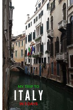 Italy, home of all things Italiano, such as romance, pizza, gelato, leather, murano glass, and lots of vino!  http://www.flavoursandfrosting.com/my-trip-to-italy-in-3-days/