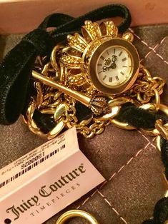 Juicy Couture Watch, Pocket Watch, Bracelet Watch, Watches, Bracelets, Accessories, Fashion, Moda, Wristwatches