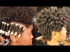 Tapered Haircut + Perm Rod Set on Natural Hair [Video] - Black Hair Information Community - Tapered Natural Hair, Pelo Natural, Natural Hair Tips, Natural Hair Styles, Rod Set Natural Hair, Natural Perm, Perm Rod Set, Pelo Afro, Permed Hairstyles