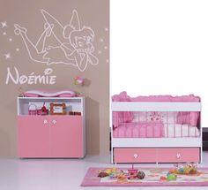 modèle deco chambre bebe fille rose et gris   Babies, Room and Bedrooms