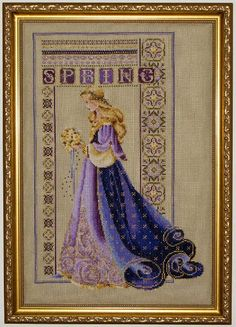 Love this pattern from Lavender & Lace - Celtic Spring