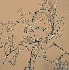 Shikamaru x Temari Naruto Fan Art, Naruto Uzumaki, Anime Naruto, Boruto, Sasuke, Shikadai, Shikatema, Naruto Family, Naruto Couples