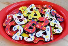 Beki Cook's Cake Blog: A-B-C and 1-2-3 Cookies