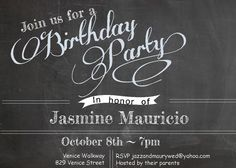 Free Birthday Invitation Templates For Adults ~ The big 4 0 party invitations birthday party invitations for