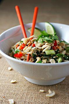 #HealthyRecipe / garlicky greens pasta with homemade gomasio ~vegan, gluten free~