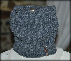 tricoter un tour de cou homme