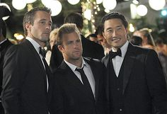 Hawaii 5-0 hotties, especially my Alex O'Loughlin.....ahh