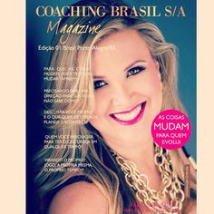 Fabi on the cover #coachingbrasilmagazine