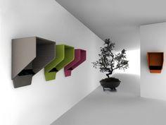 Cabinas telefónicas acústica de pared BUZZIHOOD by Buzzispace. | diseño Alain Gilles
