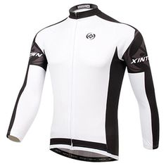 2d49adf919 Men Long Sleeve Bike Cycling Jersey Winter Mtb Bicycle Cycling Clothing Ropa  Ciclismo Invierno