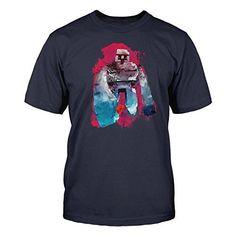 New Minecraft Mine Craft azul marino diseño de Exclusive Golem de hierro 2015 producto oficial de Minecraft T-camiseta de manga corta #regalo #arte #geek #camiseta