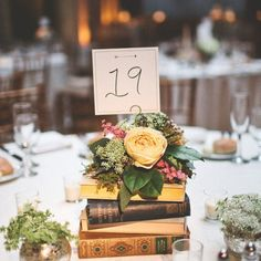 11 Ways To Add A Book-Themed Touch To Your Wedding