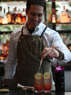 SJ making magic happen at The Bar at Hotel Kabuki! Japantown San Francisco, Lombard Street, Pacific Heights, A Boutique, Magic