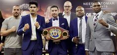 Vijender Singh Vs Francis Cheka Face Off In Delhi On December 2016 Vijender Singh, Box Office Collection, Movies Box, Face Off, News Today, December