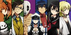 Akame ga Kill! Jeagers!! I love these ppl even tho they're evil...mostly esdeath haha