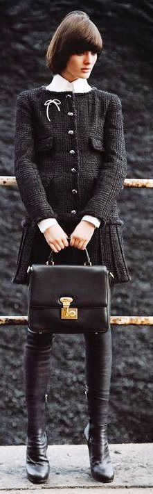 Chanel women fashion outfit clothing stylish apparel @roressclothes closet ideas