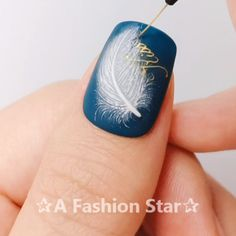 "Nail Designs ""Ein Fashion Star"" Nail Design nailA Fashion Star✰ # ネ ネ イ # ジ ジ ェ ネ ル ル # ногти # мани Star Nail Designs, Nail Art Designs Videos, Nail Design Video, Nail Art Videos, Cool Nail Designs, Nails Design, Nail Manicure, Diy Nails, Cute Nails"