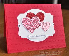 Card Creations by Beth: Valentine's Day is Coming!
