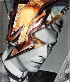 Serafina, Bowie re-interpretado por Brasileiros A Level Photography, Digital Art Photography, Portrait Photography, Photography Ideas, David Bowie, Collages, Collage Artists, Lucas Simoes, Art Optical