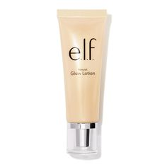 Cosmetics: Natural Glow Lotion elf cosmetics released a new Glow Lotion and wow its just full of all these awesome ingredients for your skin! Their skincare line has just been so on point! Elf Products, Beauty Products, Natural Products, Glow Lotion, Beauty Makeup, Fun Makeup, Unique Makeup, Glamorous Makeup, Makeup Stuff