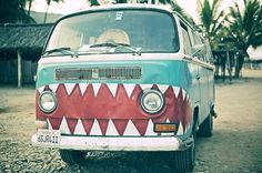 painted bus - Google Search