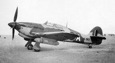 Hawker Hurricane Mk IIC at an airbase in Egypt