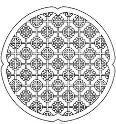 103 Best Geometric Patterns Coloring Pages Images On Pinterest
