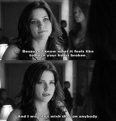 Gosh, Brooke always had the kindest heart ♥︎