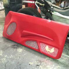 Custom Regal build. Coming soon! #ultimateaudiosc door panel custom fiberglass