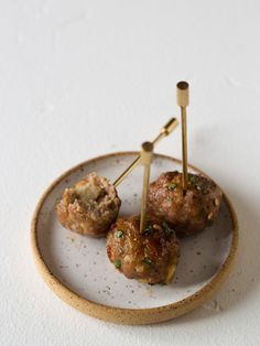 Ginger Garlic Cocktail Meatballs | Spoon Fork Bacon