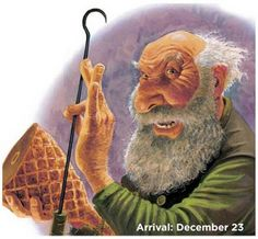 You better watch out⠀ You better not cry⠀ Better not pout⠀ I'm telling you why⠀ Ketkrókur is coming to town!⠀ ⠀ Watch for your meat! ⠀ Or this cheaky lad will take it with his hook! 🍖 😜⠀ ⠀ Image via Brian Pilkinton from the book The Yule Lads⠀ Days Before Christmas, Christmas Holidays, Xmas, Troll, Nordic Games, Down From The Mountain, Inspired By Iceland, Large Animals, Primitive Christmas