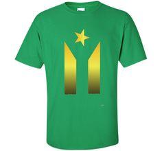 Puerto Rico #teamrubio Gold Flag T-Shirt