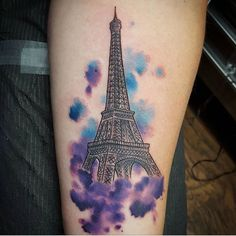 Fun little Eiffel tower tattoo by @grass_art #eiffeltower #paris #francetattoo #paristattoo #watercolortattoo #texastattoo #texasinkedmag #texasinked #cleantattoos #hellyeahtattoos #radtattoos #texastattoos #austintexas #downtownaustin #artrealmtattoo #girlytattoo #atx #austintx #hopeoutdoorgallery #texasartist #austinartist #skinartmag #austintattoo by artrealmtattoo