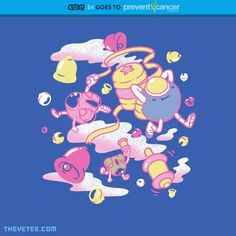 Pop'n Twinbee GDQ shirt design