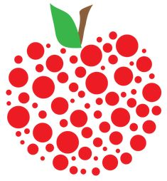 Teacher apple | Free Apple Clipart and printables for art projects, teachers, and home ...