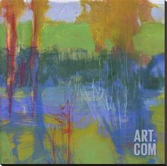 Habitat Stretched Canvas Print by Lou Wall at Art.com