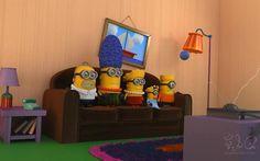 Simpson Minions!!!