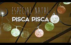 ESPECIAL NATAL #1: DIY pisca piscas decorados - Paula Stephânia