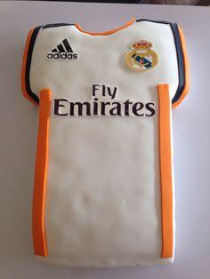 Real Madrid cakes..! @Sweetiebakerycafe
