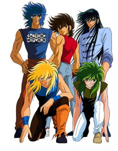 Saint Seiya [ one of the cutest anime shows ♥ ]