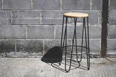 The is a favourite for many styled venues. High Stool, Restaurant Furniture, Hairpin, Daily News, Restaurant Bar, Bespoke, Bar Stools, Industrial, Home Decor