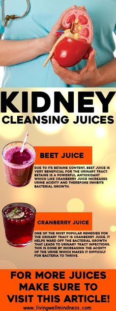 You can take kidney friendly beverages that will help your kidneys work even better. Here are five kidney cleansing drinks that you should definitely try.