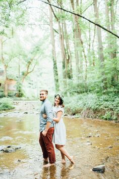 Woodsy nature preserve just-because couples shoot by Rebekah Viola Photography {Tucquan Glen Photo Session | Rebekah Viola Photography | The Realization of Good}