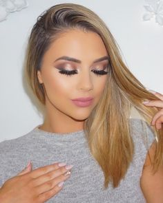This eye makeup though - Slayed ...