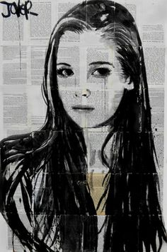"Saatchi Art Artist Loui Jover; Drawing, ""sunday"" #art"