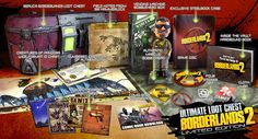 Borderlands 2 Real Life Loot Revealed in Two Collector's Editions. A News about Borderlands 2 and its co-op game features. Borderlands 2, 2k Games, Xbox One Games, Playstation, Xbox 360, Un Book, Latest Video Games, First Person Shooter, I Am Game