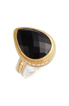 Anna Beck Black Onyx Cocktail Ring available at #Nordstrom